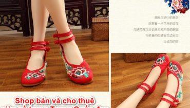 Shop Bán và Cho thuê Giày Cổ Trang Trung Quốc Đẹp Nhất