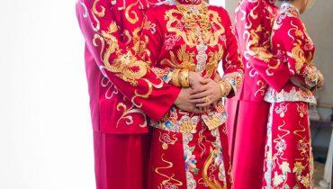 Xu hướng áo cưới Trung Quốc (áo khỏa) đẹp nhất năm 2021