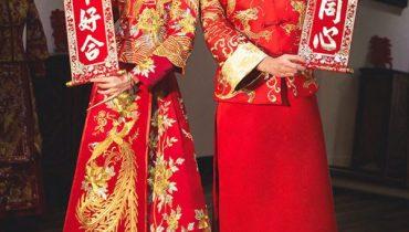 Cách trang điểm, makeup làm tóc cho cô dâu cổ trang Trung Quốc