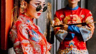 Áo khỏa là gì? ý nghĩa của áo khỏa cưới cổ trang trung quốc