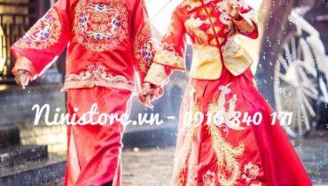 Giá cho thuê áo cưới truyền thống trung hoa, áo khỏa tại TpHCM 2021