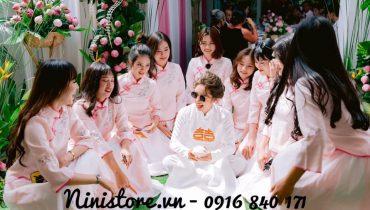 Top 5 mẫu váy bưng quả đám cưới Trung Quốc đẹp nhất 2020
