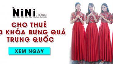 4 tiệm thuê áo khỏa bưng quả Trung Quốc ở TPHCM