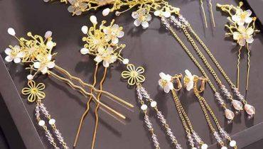 Shop bán trâm cài tóc cổ trang Trung Quốc tại TpHCM đẹp giá rẻ 2021